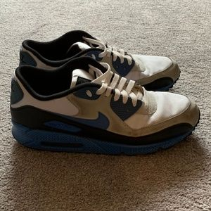 Nike Shoes - Nike Air Max 90 Light Blue/Grey Size 13